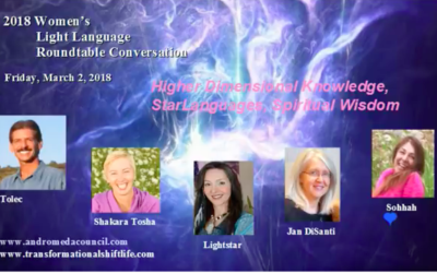 Interview: Women's Light Language Roundtable with Tolec