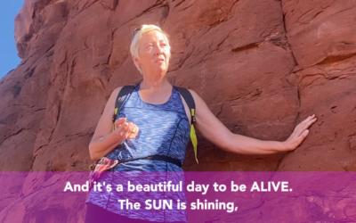 Message from Lady Kachina Rock, Sedona AZ